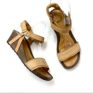 Teva W Ysidro Universal Cork Wedge Sandals